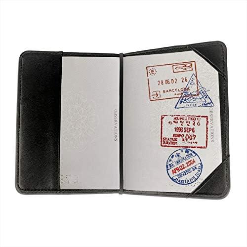 50cent 50 Cent Rapper Rap Logo パスポートケース メンズ 男女兼用 パスポートカバー パスポート用カバー パスポートバッグ 小型 携帯便利 シンプル ポーチ 5.5インチ高級PUレザー 家族 国内海外旅行用品