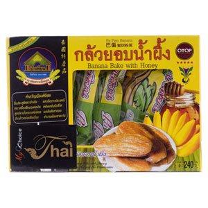 My Choice Thai, Banana Bake with Honey, net weight 240 g (Pack of 1 piece) / Beststore by KK8
