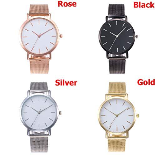 Women Watches Bayan Fashion Rose Gold Silver Luxury Ladies Watch for Women