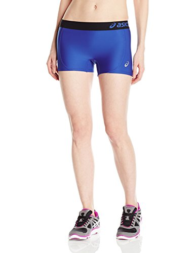 ASICS Women's Team Shorts, Royal/Black, Small