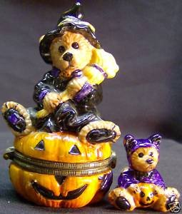 Boyds Bear Emma The Witchy Bear Trinket (Witchy Bear)