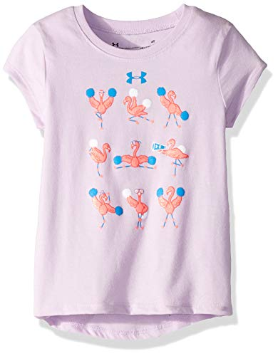 Ace Short Sleeve T-shirt - Under Armour Girls' Toddler Graphic Short Sleeve T-Shirt, Purple Ace-1-S19, 3T