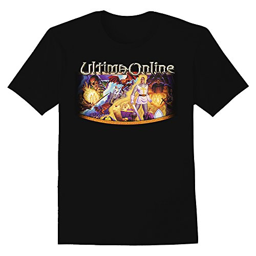 Ultima Online Graphic T-Shirt (4X-Large, - Ultimo Online