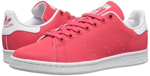 Adidas Originals Women's Stan Smith W Fashion Sneaker, Core Pink Core Pink/White, 7.5 M US