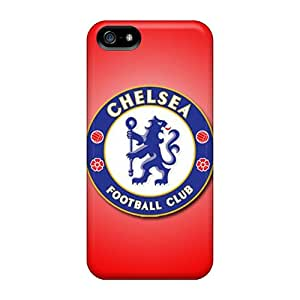 Premium Chelsea Fc Heavy-duty Protection Case For Iphone 5/5s