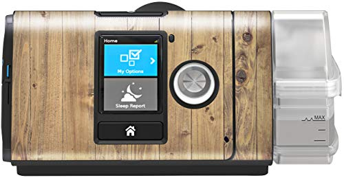 RespLabs CPAPwrapsTM Compatible with ResMed AirSense – Personalize Your Device with a Specialty Skin [Wood Plank]