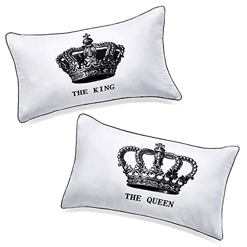 - DasyFly His Hers King and Queen Couples Pillow Cases,Funny His and Hers gifts For Him,Annivesary Wedding Gifts For The Couple.Romantic Couples Gifts Idea For Christmas,Valentines Day