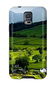 High-end Case Cover Protector For Galaxy S5(earth Landscape) by lolosakes