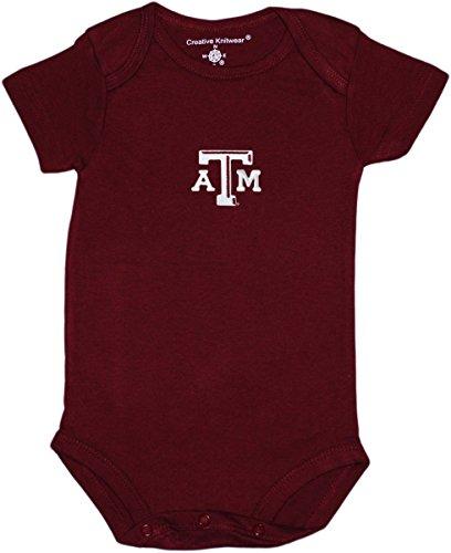 Creative Knitwear Texas A&M Newborn Baby Clothes, Aggie, Boy and Girl College ()