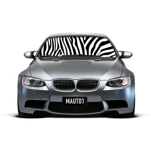 Auto Shade - Zebra White -