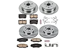 Autospecialty KOE2407 1-Click OE Replacement Brake Kit