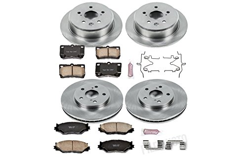 (Autospecialty KOE2407 1-Click OE Replacement Brake Kit)