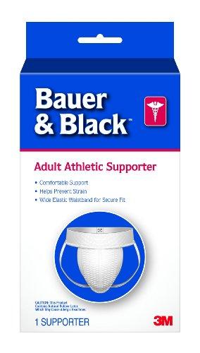 3M Bauer Black Adult Supporter