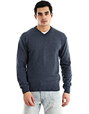 Andora Basic Knitted V-neck Pullover