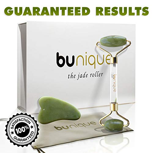 BUnique Premium Quality Jade Roller for Face