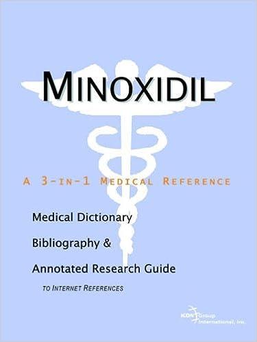 Téléchargements Ebook Pdf Minoxidil A Medical Dictionary