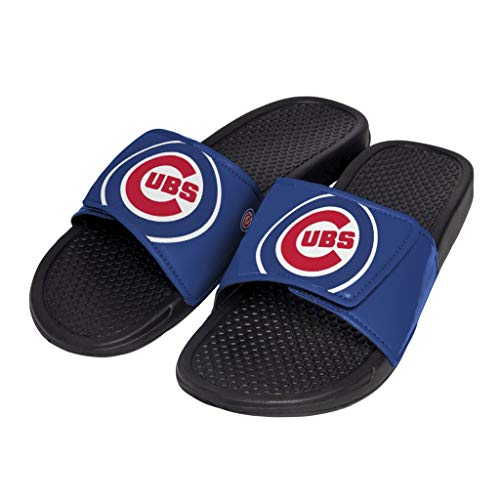 Flip Logo Flop Sandals - FOCO MLB Unisex - Big Logo Slide Flip Flops Sandals