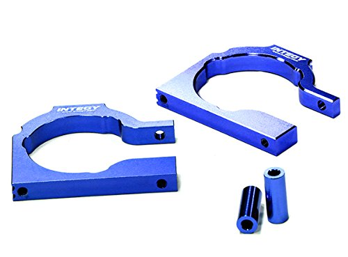 - Integy RC Model Hop-ups T6943BLUE Billet Machined Motor Mount Plate for HPI Savage Flux