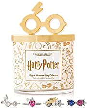 Charmed Aroma Harry Potter Magical Moments Jewelry Candle, 925 Sterling Silver Ring Collection