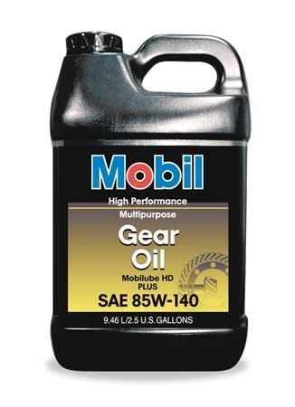 Mobilube HD Plus 85w140, Gear Oil, 2.5 (Plus Gear Oil)