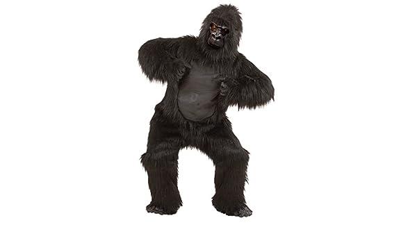 NET TOYS Disfraz Completo de Gorila en Felpa Traje Animal Mono Zoo ...