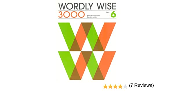 Wordly Wise 3000 Book 6, Grade 9 Student Book: Kenneth Hodkinson ...