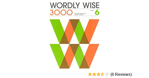 Wordly wise 3000 book 6 grade 9 student book kenneth hodkinson wordly wise 3000 book 6 grade 9 student book kenneth hodkinson sandra adams cynthia johnson drew johnson 9780838824368 amazon books fandeluxe Image collections