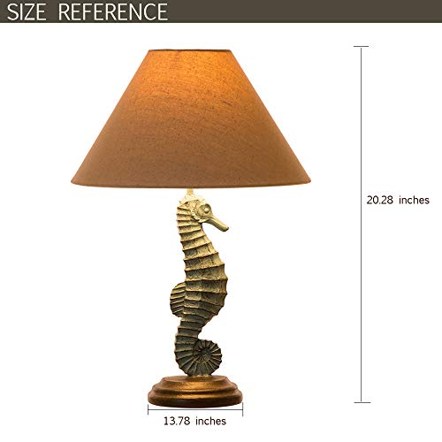 Seahorses Neutral color Lamp Shade