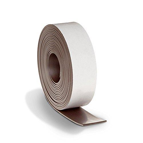 Tira de cinta magnética fuerte, más grueso y más fuerte calcomanía Back Imán flexible para pizarrón blanca, borrado en...