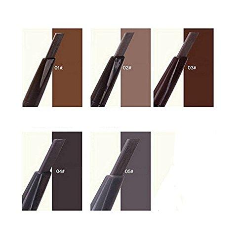 Etude House Korean Makeup Drawing Eye Brow Five Color Set #1 Dark Brown/#2 Grey Brown/#3 Brown/#4 Dark Grey/#5 Grey