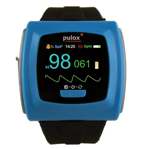 Pulsoximeter PULOX PO-400 mit Armband