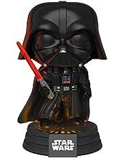 Funko 35519 POP Bobble: Star Wars: Darth Vader Electronic, Multicolor