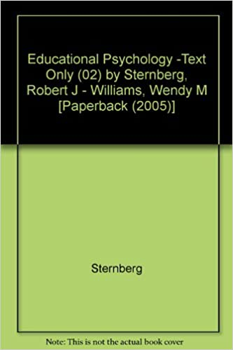 Ebooks téléchargement gratuit anglais Educational Psychology -Text Only (02) by Sternberg, Robert J - Williams, Wendy M [Paperback (2005)] in French PDF MOBI