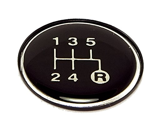 Omix-Ada 18885.28 Transmission Shift Pattern Plate (Shift Overdrive Knob Automatic)