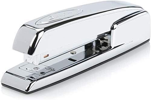 747 Iconic Desktop Stapler Chrome - 1 Desk 74720 Swingline Stapler Office 25 Sheet Capacity