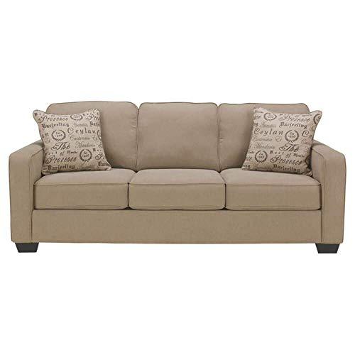 Ashley Furniture Signature Design - Alenya Sleeper Sofa with 2 Throw...