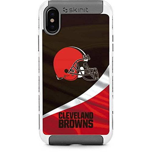 Cleveland Browns iPhone X/XS Case - NFL | Skinit Cargo Case - Durable Double Layer iPhone X/XS Cover