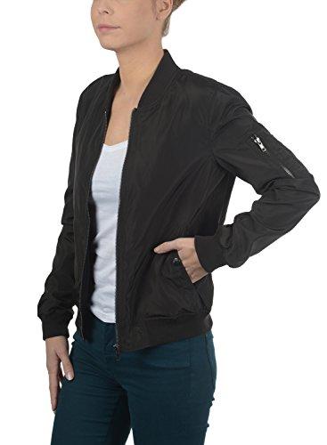 DESIRES Temari - chaqueta de bombardero para mujer Black (9000)