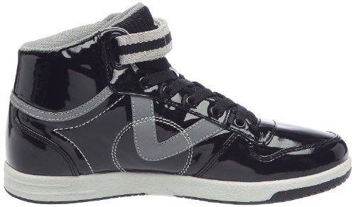 Mode Femme Victoria Pu negro Sneaker Charol Noir Baskets wBnqgRIx7