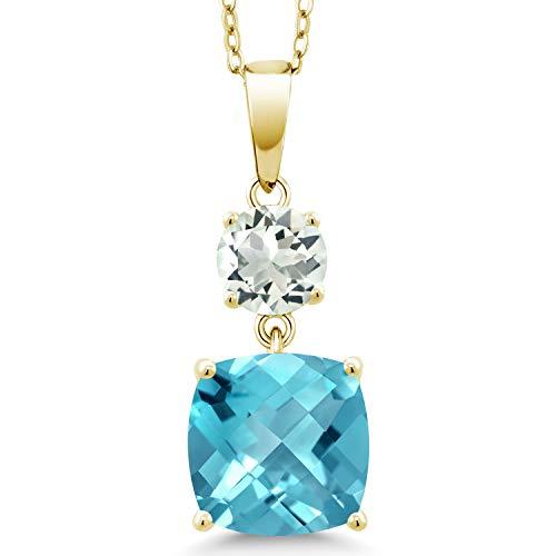 David Yurman Blue Topaz Necklace - 1