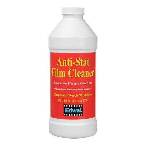 Edwal Anti-Stat Film Cleaner, for Black & White and Color Films, 32 Oz. Can