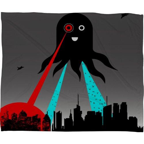 - Deny Designs Brandon Dover Yay Fleece Throw Blanket, 50 x 60