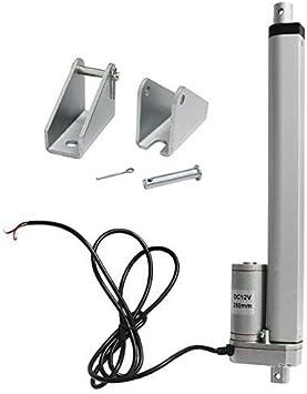 ECO-WORTHY 10 pulgadas 12 V lineal Motor Heavy Duty 330lbs Solar Tracker multifunción para electroic médicos,, Auto, uso (10