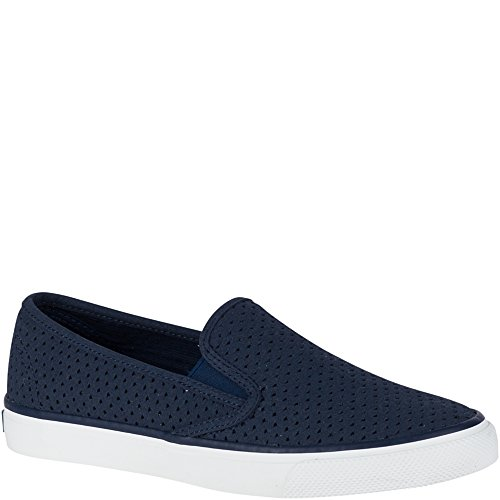 Sperry Top-sider Donna Mare Perf Slip-on Mocassino Blu Scuro
