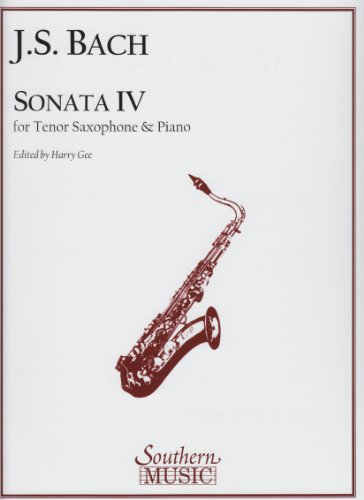 Sonata IV for Soprano or Tenor Saxophone and Piano -