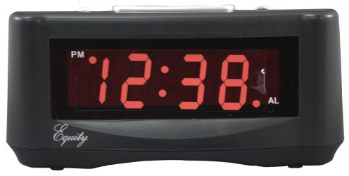 Equity by La Crosse 30007 LED Alarm Clock