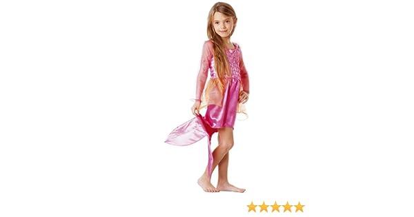 Mattel B867-001 Costume - Disfraz de Barbie sirena (3-5 años)