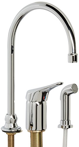American Standard 6114381.002 Monterrey Single Control Gooseneck Kitchen Faucet with Remote (Control Remote Valve Kitchen Faucet)