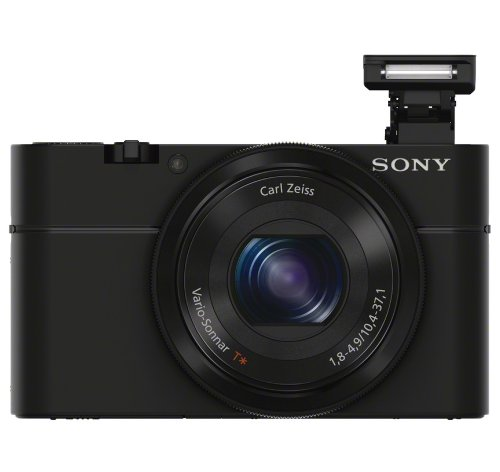 Sony DSC-RX100B 20.2 MP Exmor CMOS Sensor Digital Camera with 3.6x Zoom