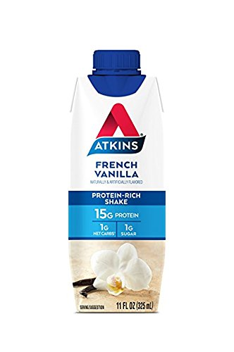 Atkins Ready to Drink Shake, French Vanilla (12 Count)